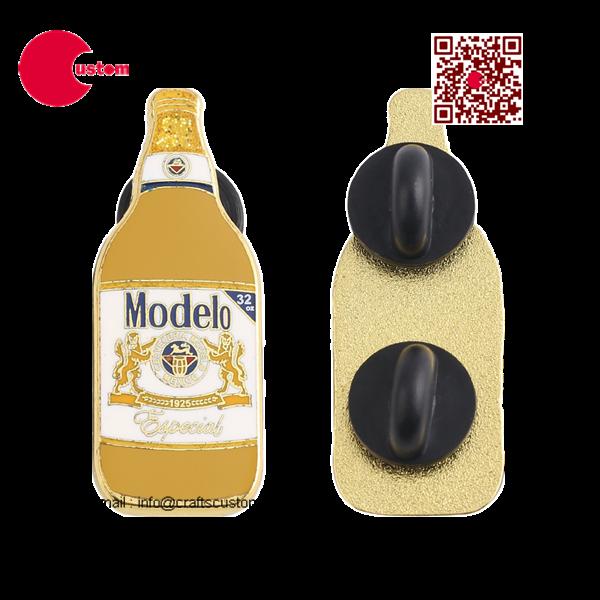 beer coat pin