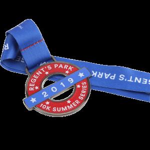 zinc alloy hard enamel metal medal