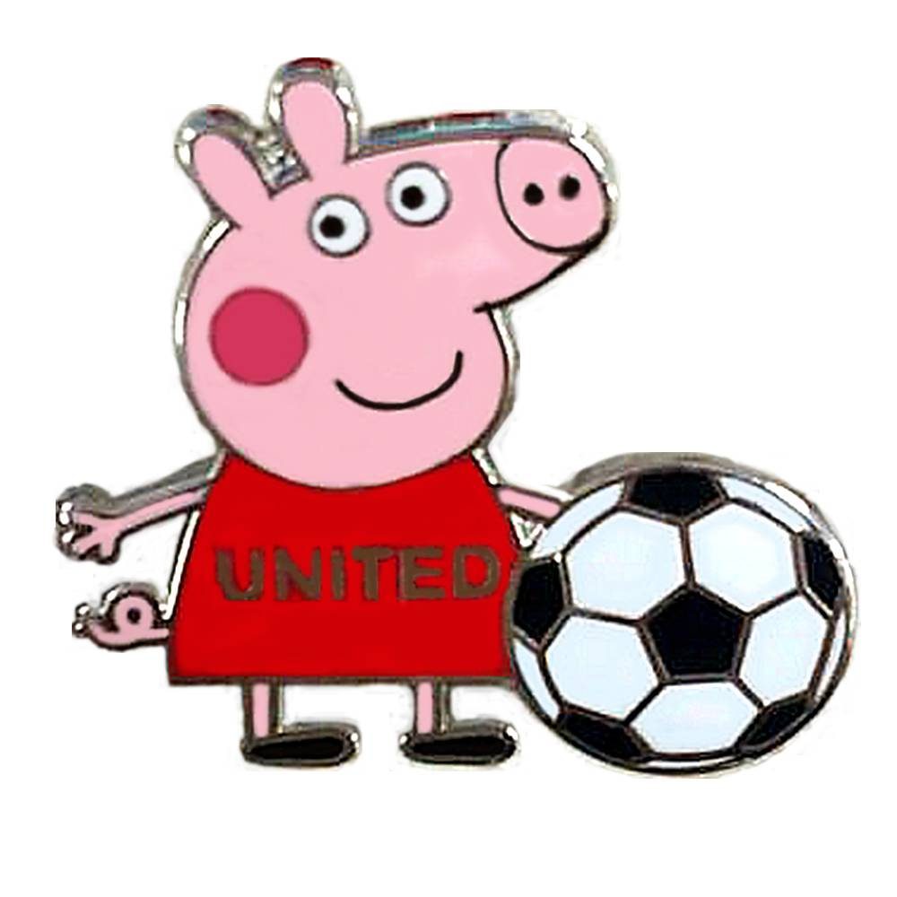 peppa pig lapel pin