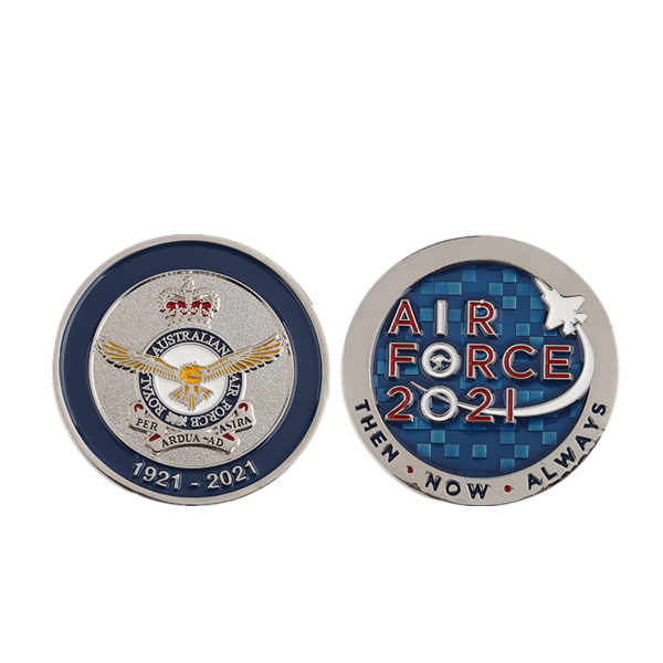 2021 eagle air force coin