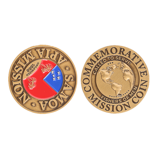 APIA MISSION coin