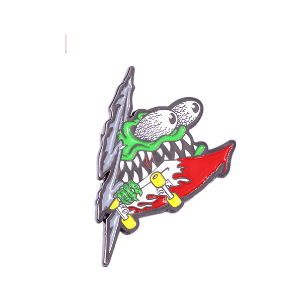 Carnaval Cartoon Character Animal Brooches Metal Badge