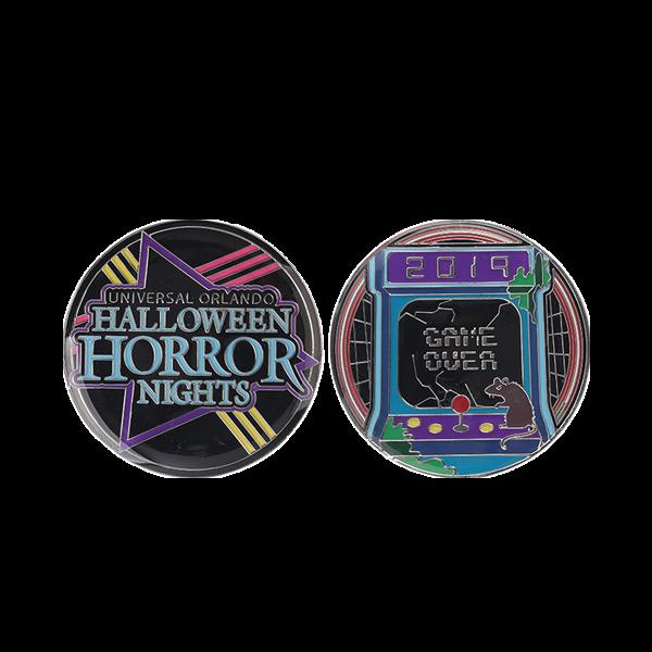 Halloween challenge coins