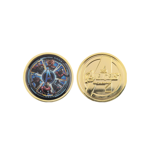 Marvel double sided coin
