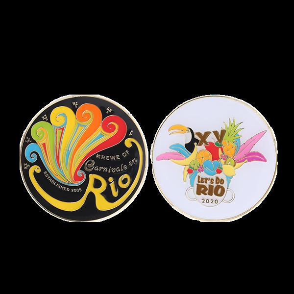 Rio challege coin