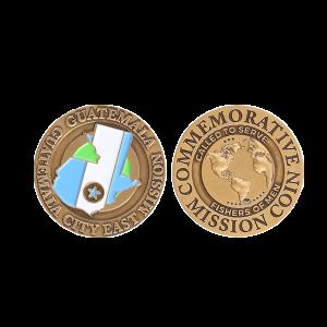 commemorative mission coin