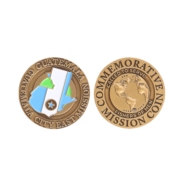 commemorative mission coin