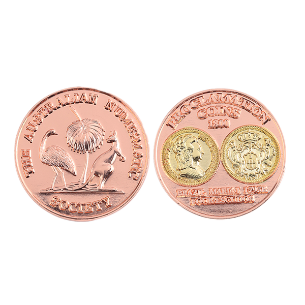 Matt Copper Coins