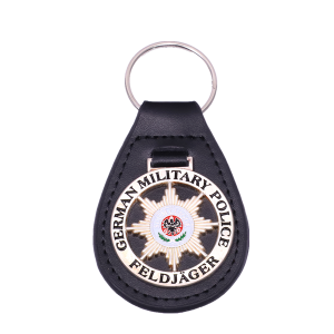 black leather car keychains