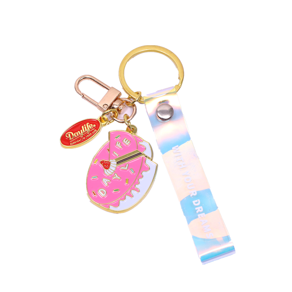 strawberry cake cute keychains