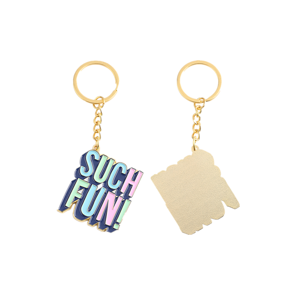 such fun colorful keychain