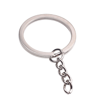 Split-ring with Chain