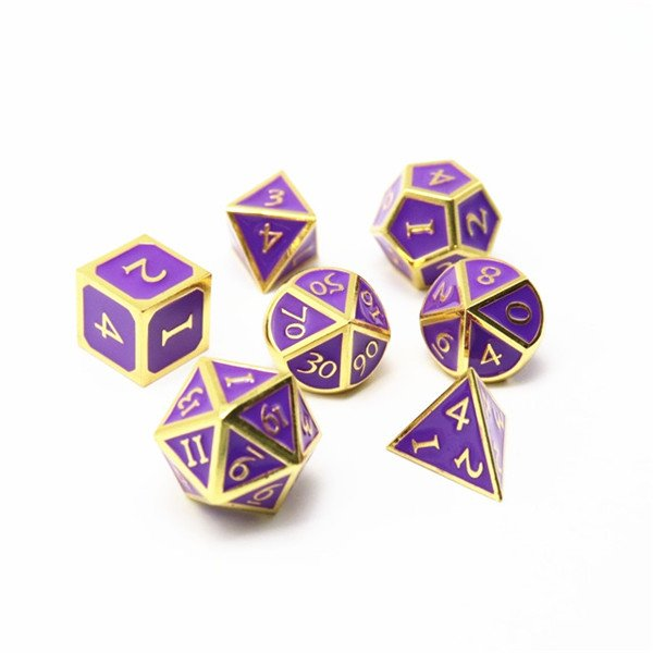 Enamel Dice Set