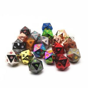 20 Sided Dice collection