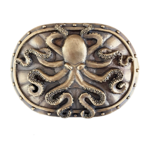 Octopus Belt Buckle