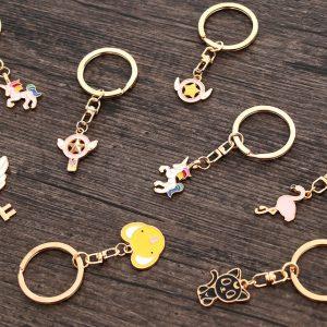 cute metal keychains