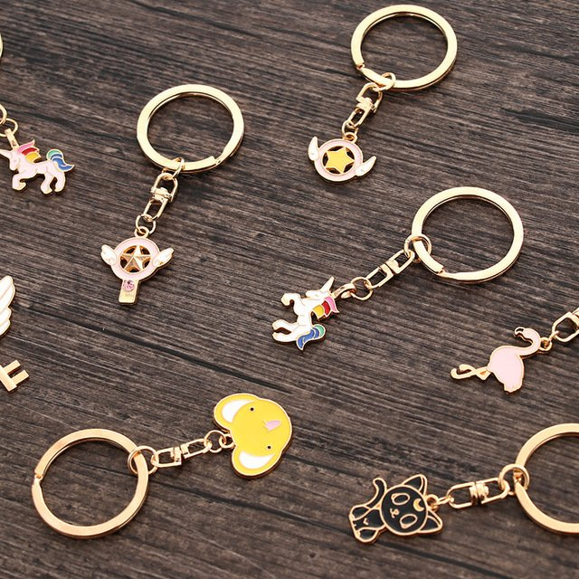 cute metal keychains