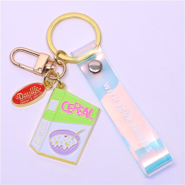 Book style key chain holder
