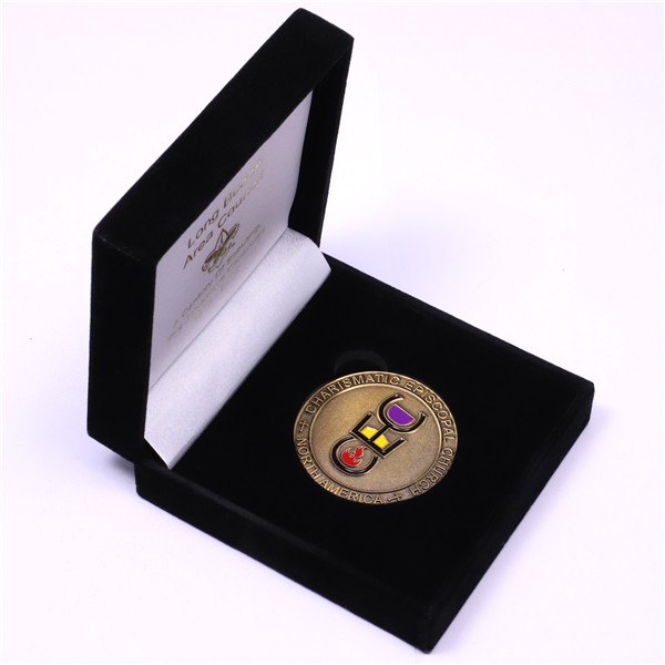 CEC club challenge coin