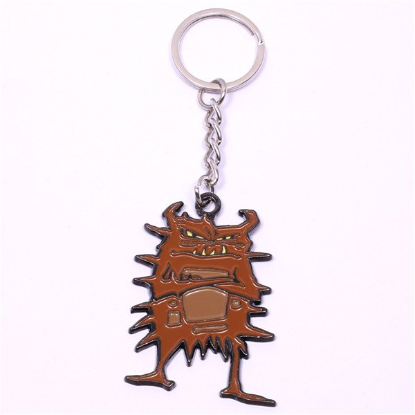 brown monster keyrings
