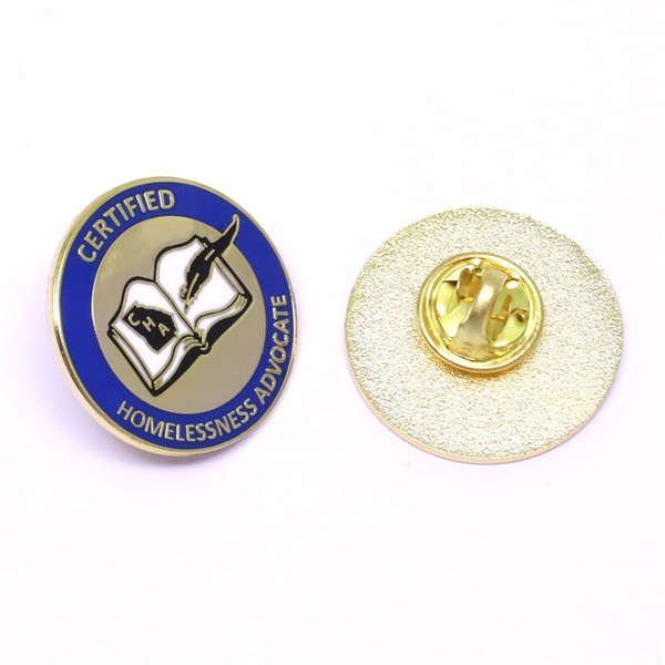 certified lapel pin