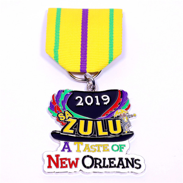 colorful cute short medal