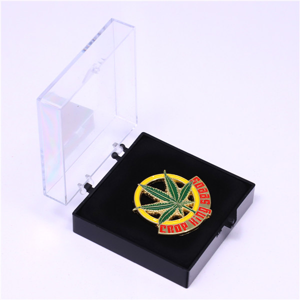 company logo coins