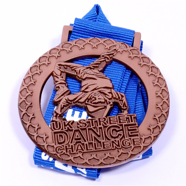 dance game challenge medal