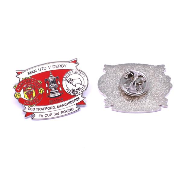 football club lapel pin