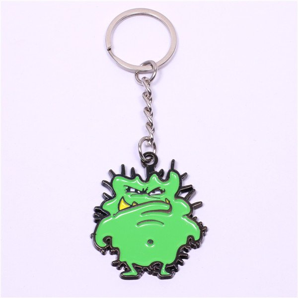 green monster keyrings
