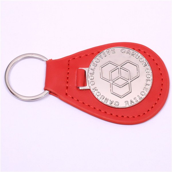 leather keychains for car